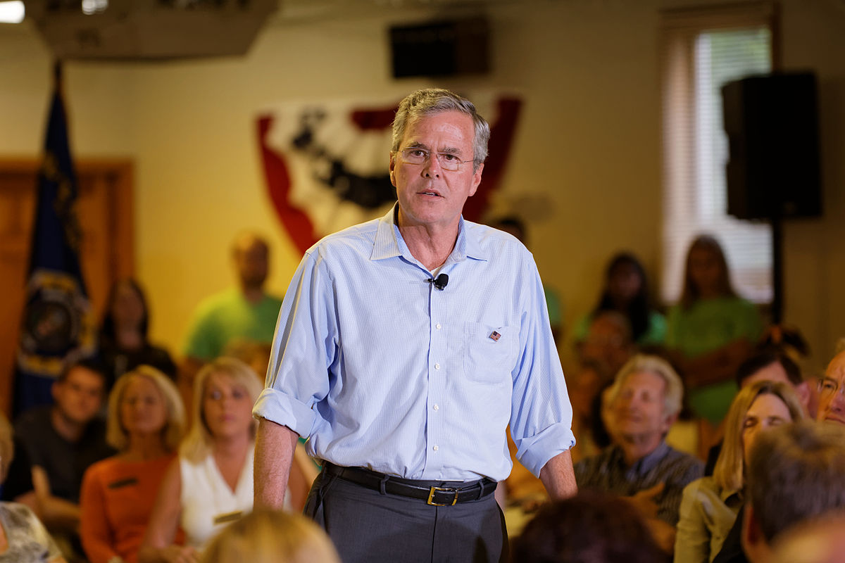 Governor of Florida Jeb Bush at VFW in Hudson, New Hampshire, July 8th, 2015 by Michael Vadon a 16.jpg