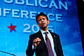 Governor of Louisiana Bobby Jindal at Southern Republican Leadership Conference, Oklahoma City, OK May 2015 by Michael Vadon 134.jpg