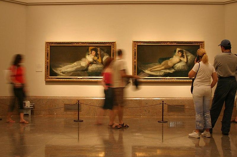 Majas, Las Goya - Museo Nacional del Prado