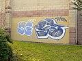 Graffiti, Culverhouse Cross, Cardiff - geograph.org.uk - 1156482.jpg