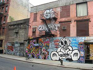 Graffiti in New York City - Graffiti on the Lower East Side