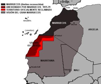 Greater Morocco - Image: Gran Marruecos
