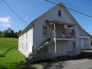 Grand Army of the Republic Hall (Halsey Valley, New York) United States historic place