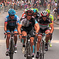 Grand Prix Cycliste de Québec 2012, Break on lap 1 (7953031756).jpg