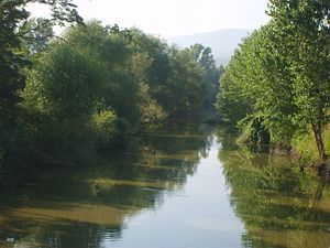 White Bridge (Mysia) - The river Granicus, which was once spanned by the bridge