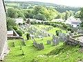Gravestones and bungalows - geograph.org.uk - 505461.jpg