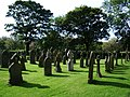 Graveyard, St Anne's Roman Catholic Church, Ormskirk - geograph.org.uk - 536391.jpg