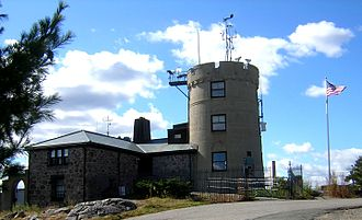 Blue Hill Meteorological Observatory - View from the east