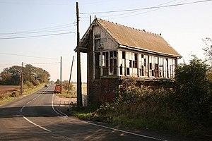 Postland railway station - Former signal box