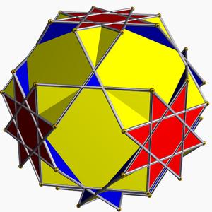 Great truncated cuboctahedron - Image: Great truncated cuboctahedron