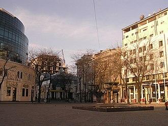 Hretska Ploshcha - Image: Greek Square, Odessa