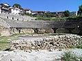 Greek Theatre built in 200 BC, Lychnidos, Ohrid, Republic of Macedonia FYROM (8397123749).jpg