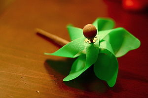simple green pinwheel
