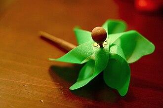 Pinwheel (toy) - A pinwheel