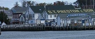 Greenport, Suffolk County, New York - Image: Greenport historic