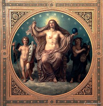 Aphrodite Urania - Venus Urania (Christian Griepenkerl, 1878)