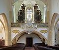 Großrußbach - Kirche, Orgelempore.JPG