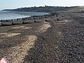 Groynes at Minster towards Royal Oak Point - geograph.org.uk - 1019375.jpg