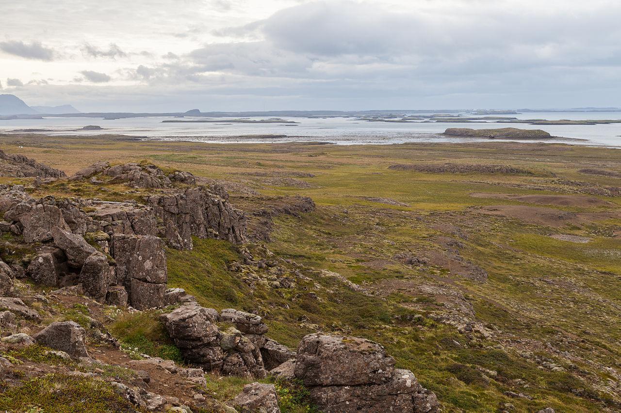Fichiergrundarfjörður, Vesturland, Islandia, 20140814
