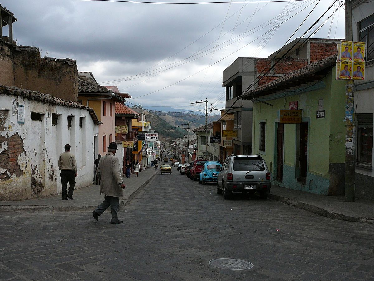 Car In Spanish >> Bolivar (province, Ecuador) – Travel guide at Wikivoyage