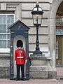 Guard and Lamp - Buckingham Palace - geograph.org.uk - 2641423.jpg