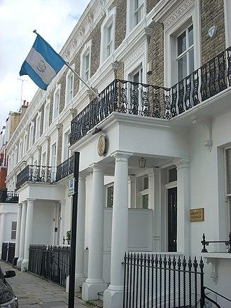 Embassy of Guatemala, London - Image: Guatemalan Embassy, London