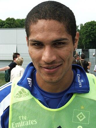 Paolo Guerrero - Guerrero with Hamburger SV.