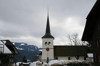 Guggisberg - Image: Guggisberg Kirche 1