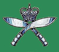 Insigne des Royal Gurkha Rifles