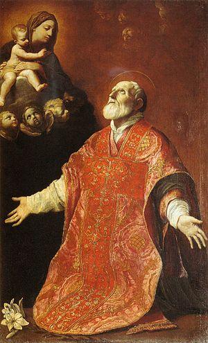 Guido Reni - St Filippo Neri in Ecstasy - WGA19295