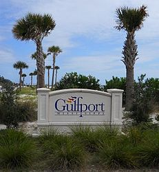 Gulfport, Mississippi.