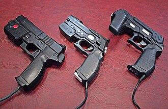 GunCon - Image: Guncon 1, 2, and 3