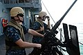 Gunner's mates staff a BMG on the USS Antietam -- 131026-N-TG831-116.jpg
