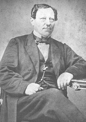 St. James' Episcopal Church (Manitowoc, Wisconsin) - First rector Gustaf Unonius
