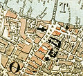 Guy's and St. Thomas' Hospitals from 1833 Schmollinger map.jpg