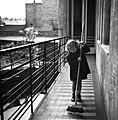 Gyerek, 1942, függőfolyosó. Fortepan 71932.jpg