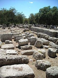 ancient Greek training facility