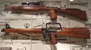 Gyrojet Firearm that fires small rocket projectiles