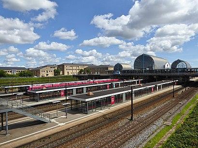 Sådan kommer du til Høje Taastrup st. med offentlig transport – Om stedet