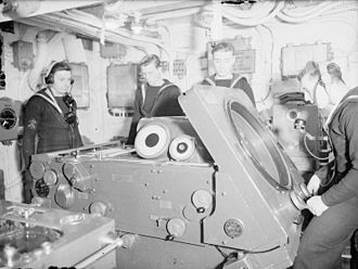 HACS - Image: HACS MK IV Table on board HMS Duke of York