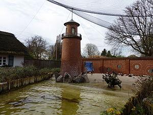 Heidelberg Zoo - Image: HD Küstenpanorama
