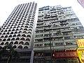 HK 灣仔 Wan Chai 軒尼詩道 Hennessy Road 新基大樓 Sun Kai Mansion n 上海實業大廈 Shanghai Industrial Investment Building facades August 2016 DSC.jpg