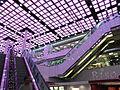 HK Ngau Tau Kok 淘大商場 Amoy Plaza indoor ceiling n escalators May-2012.JPG