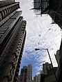HK SYP 西營盤 Sai Ying Pun Queen's Road West Centre Street sky view October 2020 SS2.jpg