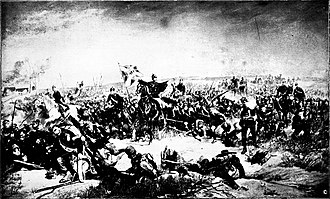 Battle of Loigny–Poupry - Hugo von Kottwitz with the Lübecker Bataillon