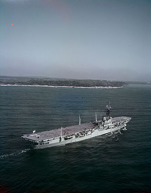 HMCS Magnificent (CVL 21) - HMCS Magnificent in June, 1954