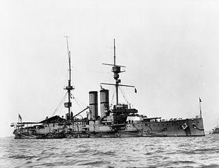 HMS <i>Hibernia</i> (1905) King Edward VII-class battleship