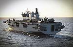 HMS Ocean at sea. MOD 45160033.jpg
