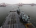 HMS Prince of Wales (R09) depart Forth for initial sea trials - 6.jpg