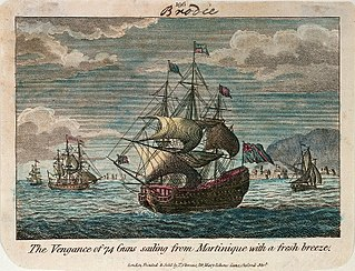 HMS <i>Vengeance</i> (1774) Royal Oak-class ship of the line